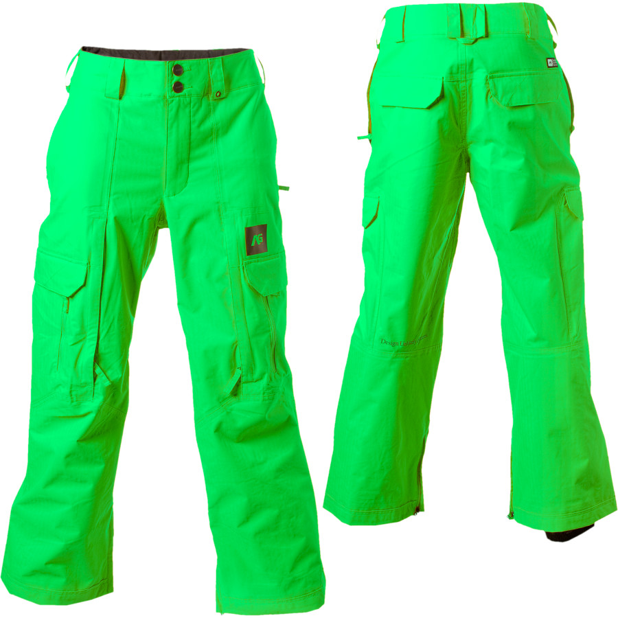 Lime Green Snow Pants