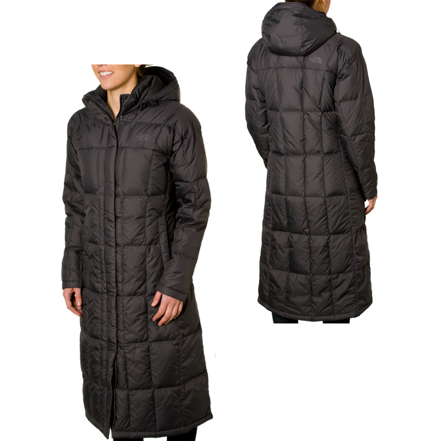 Dress up for a fancy French dinner and put on The North Face Women's Triple C Down Jacket to insulate you when your evening dress doesn't