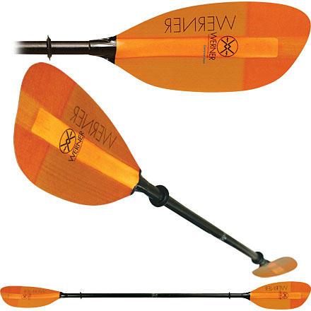 Werner Corryvrecken 2 Piece Paddle - Fiber Glass Blades/Straight Fiber Glass Shaft